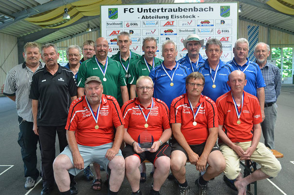 Siegerfoto des Bezirkspokals (Bezirk VI/Oberpfalz) Senioren Ü50