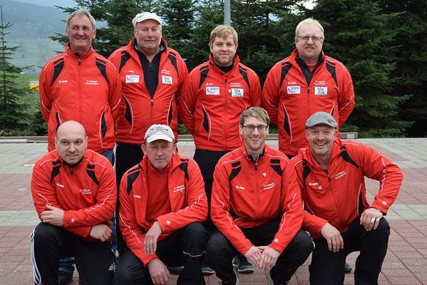 Herrenmannschaft I und II des FC Ottenzell