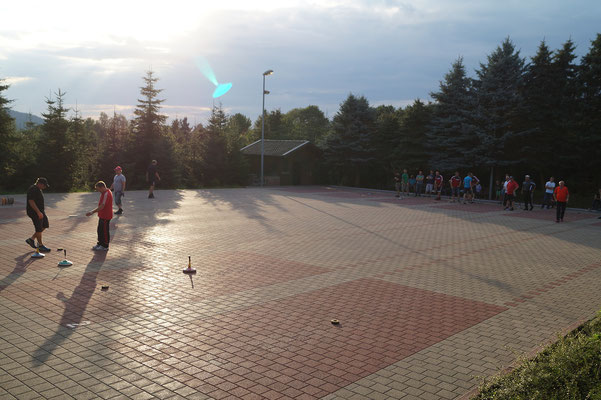 Gemeindemeisterschaft im Stockschießen 2015