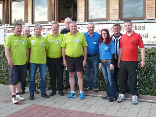 Siegerfoto Gruppe 3 - Sieger Moitzerlitz Regen