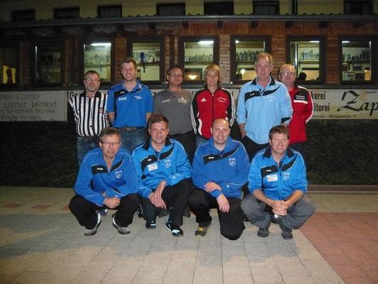 Siegerfoto Gruppe 1 - Sieger SC Zell
