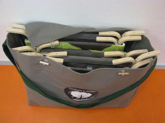 Les Cousettes rangées dans leur sac