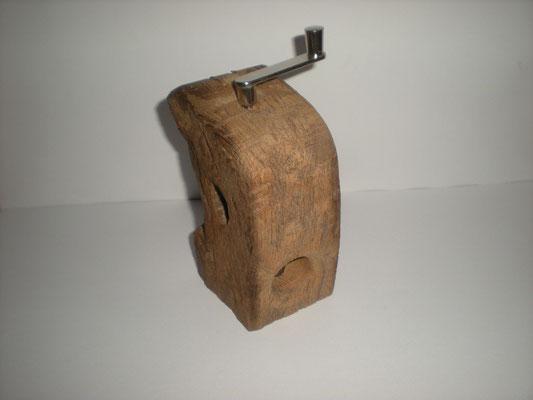 Muskatmühle Holz Eiche