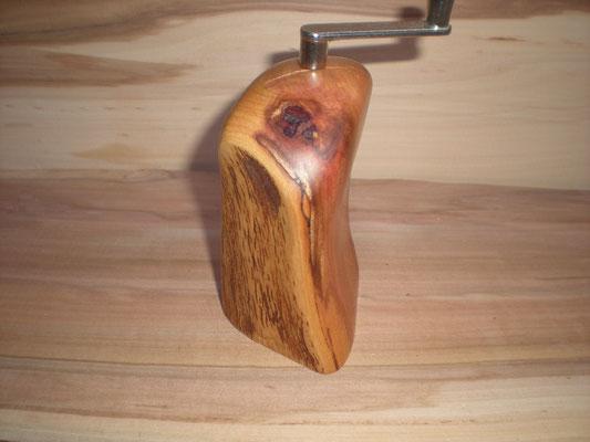 Muskatmühle / Muskatreibe Zwetschge Muskatreibe Unikat handarbeit Einzelstück Holz