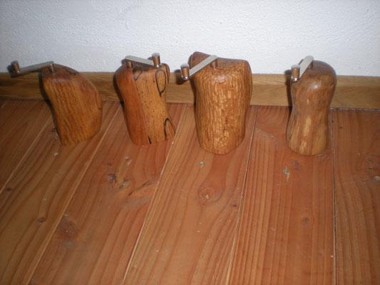 Muskatmühlen Holz