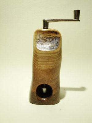 Muskatmühle / Muskatreibe  Unikat Design handarbeit Einzelstück Holz Walnuss 10