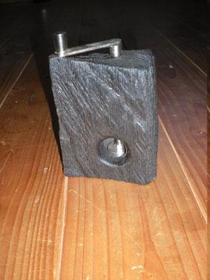Muskatmühle Holz Mooreiche Muskatreibe Unikat Holz Einzelstück