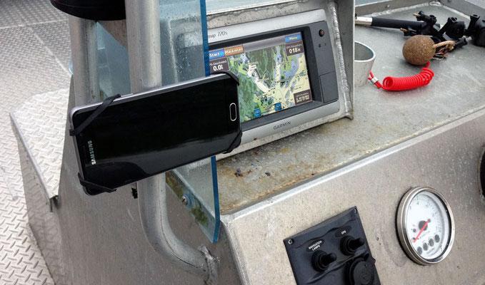 REALflexStrap Angeln Smartphone-Bootshalter