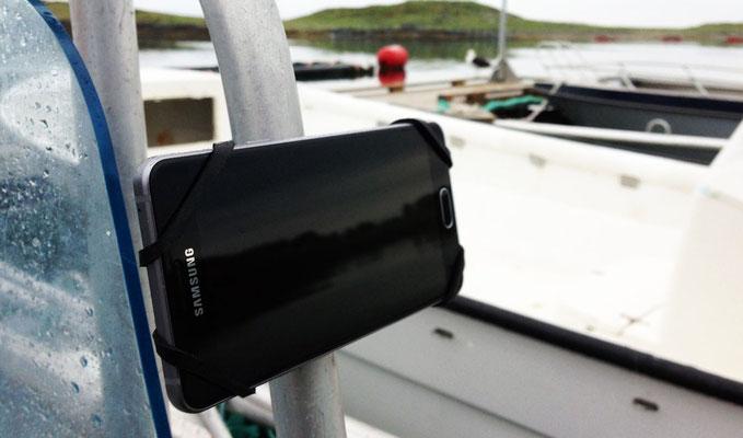 REALflexStrap Bootshalterung Handy