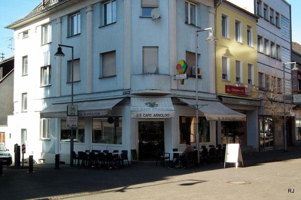 Eiscafé Arnoldo, Dudweiler, Saarbrücker Str.  247