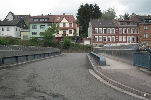 Bahnbrücke Jägersfreude Zechenweg