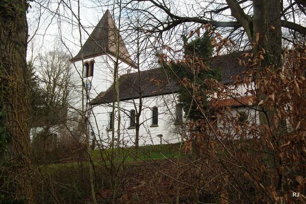 Ev. Segenskirche, Jägersfreude, Kirchweg