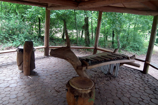 wildpark saarbruecken, klanghuette