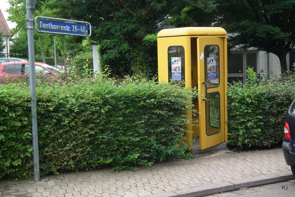 Dudweiler, Beethovenstraße, Relikt aus alten Zeiten, 2018 leider abgerissen