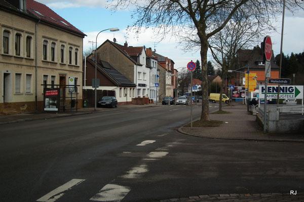 Hauptstraße in Jägersfreude