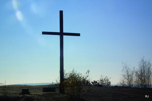 Gipfelkreuz der Halde Lydia