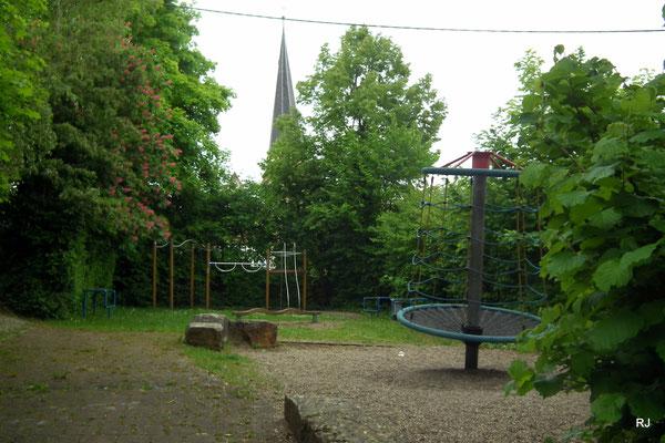 Spielplatz, Dudweiler-Herrensohr, Petrusstraße