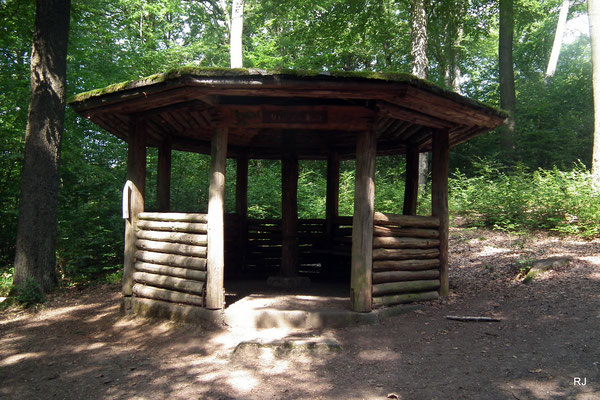 Brennender Berg Dudweiler Goethe Hütte