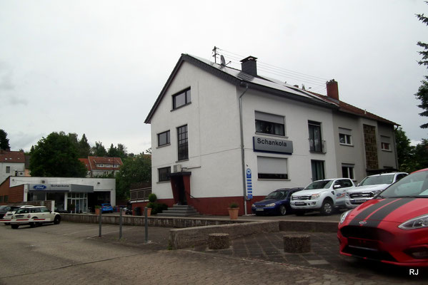 Autohaus Schankola, Dudweiler, Gärtnerstraße