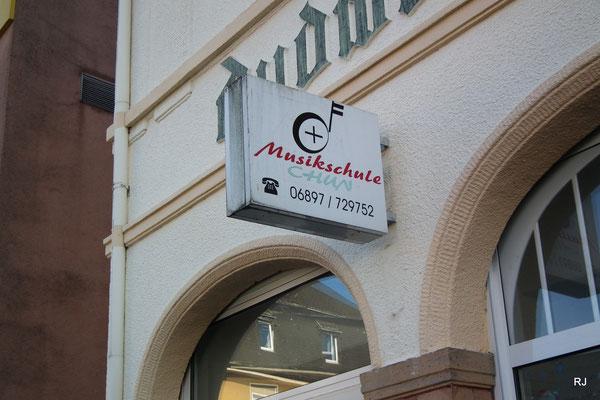 Musikschule Chun, Saarbrücker Straße, Dudweiler