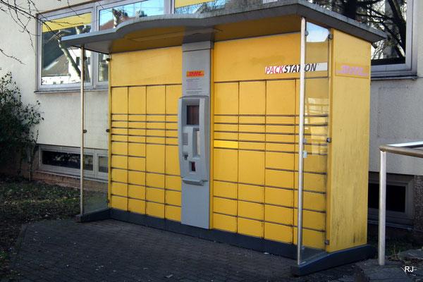 Packstation, Dudweiler, St. Ingberter Straße, neben dem alten Postgebäude