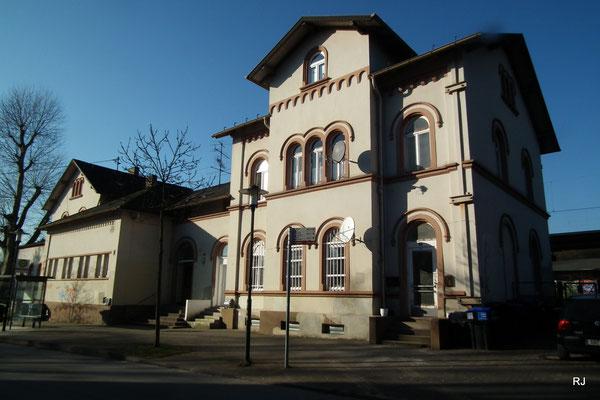 Dudweiler, Bahnhof, gebaut 1871