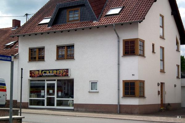 Bäckerei Damm, Dudweiler, Hofweg 90