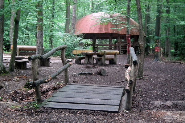 Wildpark Saarbrücken Waldklassenzimmer