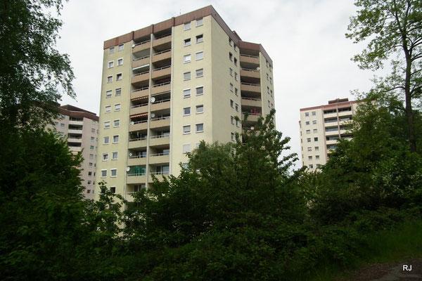 Hochhäuser am Gehlenberg in Dudweiler