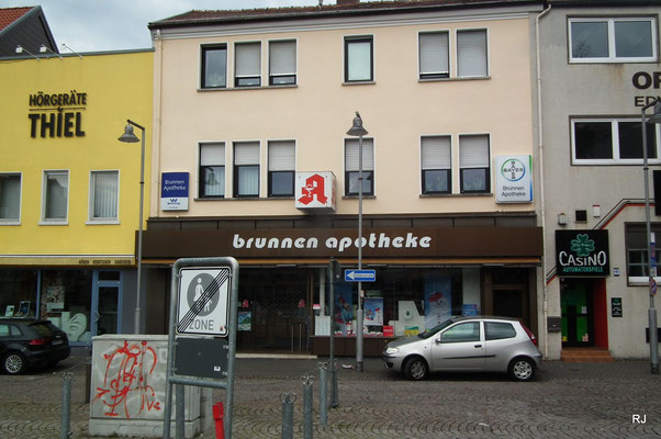 Brunnen-Apotheke, Dudweiler, Beethovenstraße 3