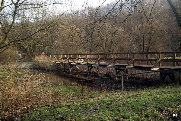 Brücke am Netzbachweiher