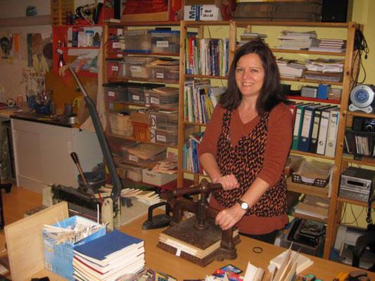 Papierwerkstatt Dudweiler, Inge Helfer