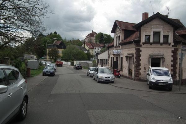 Eisenbahnstraße Gashaus Schlösschen, Herrensohr