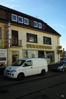Musikhaus Bopp & Lang, Dudweiler, Trierer Straße 15