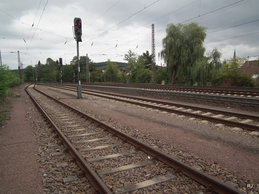 Dudweiler, Bahngelände am Güterbahnhof