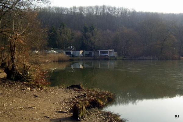 Netzbachweiher mit Gasthof Seeblick