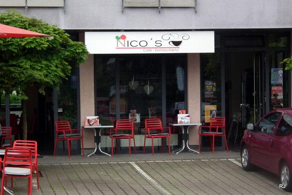 Nico`s Café und Eismanufaktur, Dudweiler, Beethovenstraße 66