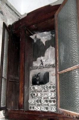 villa micka, dudweiler, alter stromverteilerkasten
