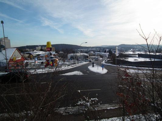 Dudweiler, Gewerbegebiet, Dudweiler Höhen, Mc. Donalds, Hedwig-Stalter-Straße