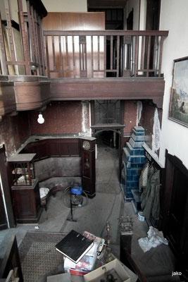 eingangsbereich, villa micka