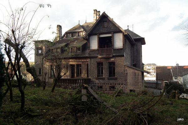 villa micka, dudweiler, rueckansicht