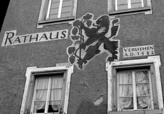 Rathaus in Winter Sipplingen