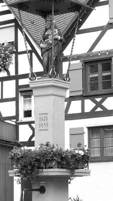 Altstadt in Winter Sipplingen