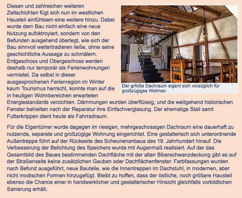 Dachraum Klosterhof1595 Sipplingen Bodensee