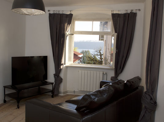 Ferienwohnung Retro Wohnzimmer Sipplingen Bodensee