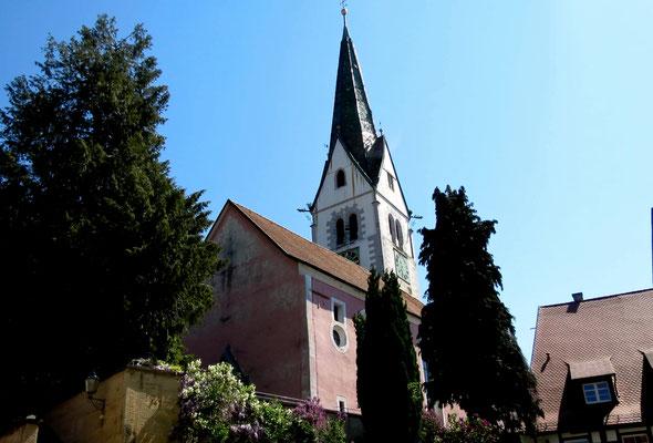 Kirche in Sipplingen am Bodensee