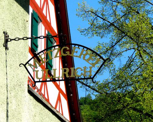 Frühling Metzgerei Ullrich in Sipplingen am Bodensee