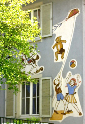 Alte Schule in Sipplingen Bodensee