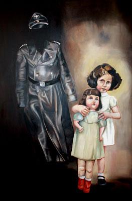 Michaela Classen: *Nicole Bloch*, 2010, Öl/Leinwand, 150 x 120 cm (Aus dem Zyklus *Reise nach Jerusalem*)