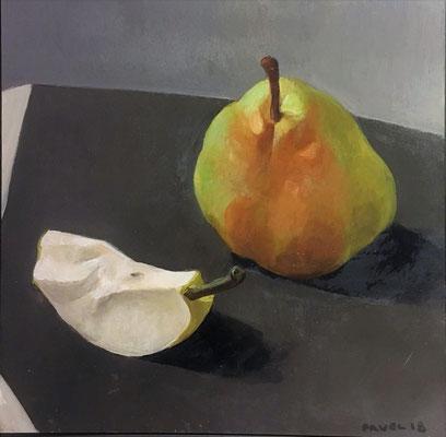 Pavel Feinstein: *N 2404*, 2018, Tempera/Hartfaser, 30 x 30 cm